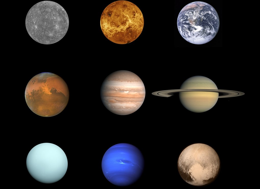 All planets in the Solar system